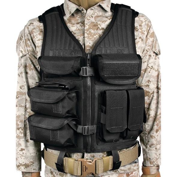 Blackhawk Omega Elite EOD Tactical Vest, Black - 30EV05BK