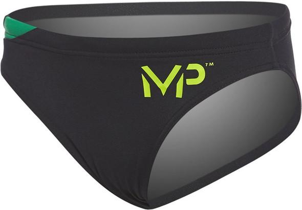 Aqua Sphere MP Michael Phelps Men's Team Splice 3-Inch Briefs Swimsuit - SM2480