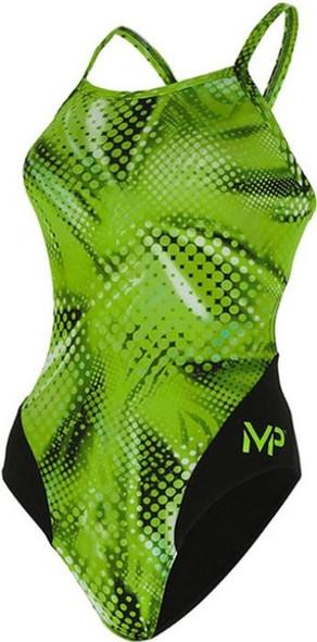 Aqua Sphere MP Michael Phelps Women's Mesa Mid Back One Piece Swimsuit - SW25599