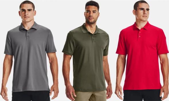 Under Armour Men's UA Tactical Performance Golf Polo Shirt - 1279759