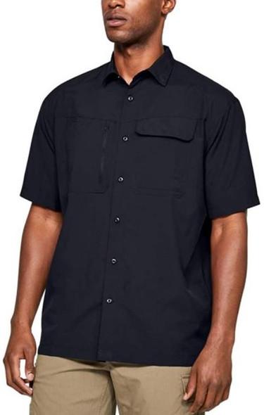 Under Armour Men's UA Tactical Hunter Short Sleeve Black T-Shirt - 1327453
