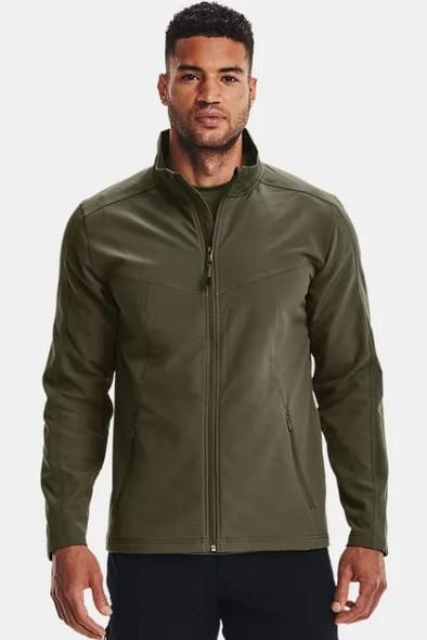 Under Armour Men's UA Tactical All Season Jacket, Marine OD Green - 1343353-390