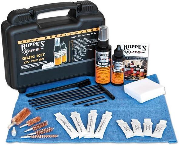 Hoppe's EGCOTG Elite On The Go Gun Care Cleaning Kit w/ Case & Pillow Pack