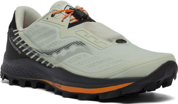 Saucony Peregrine 11 ST Men's Athletic Running Shoes, Tide/Black - S20644-35