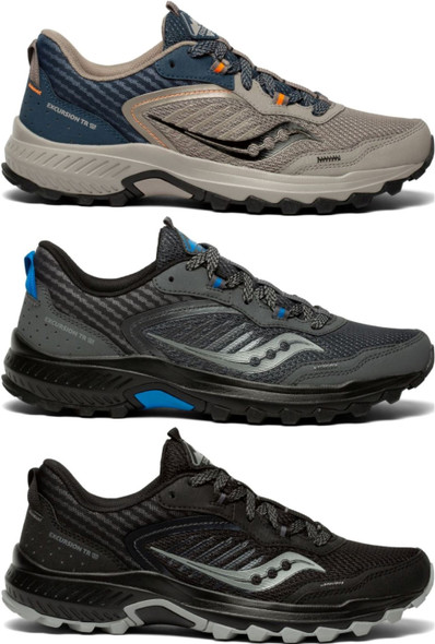 Saucony Excursion TR15 Men's Athletic Trail Running Shoes - S20668