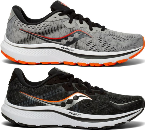 Saucony Omni 20 Wide Men's Athletic Running Shoes - S20682-10 & S20682-20