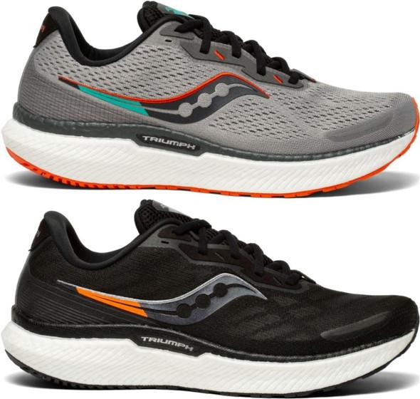 Saucony Triumph 19 Wide Men's Athletic Running Shoes - S20679-10 & S20679-20