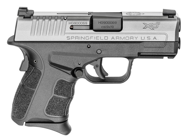 Xd-S Mod.2® 3.3″ Single Stack 9mm Handgun W/ Tritium Sight – Stainless