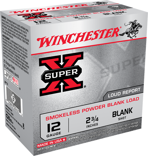 "12 Gauge, 2.75"" XP12 Blank Smokeless Powder /250 case"
