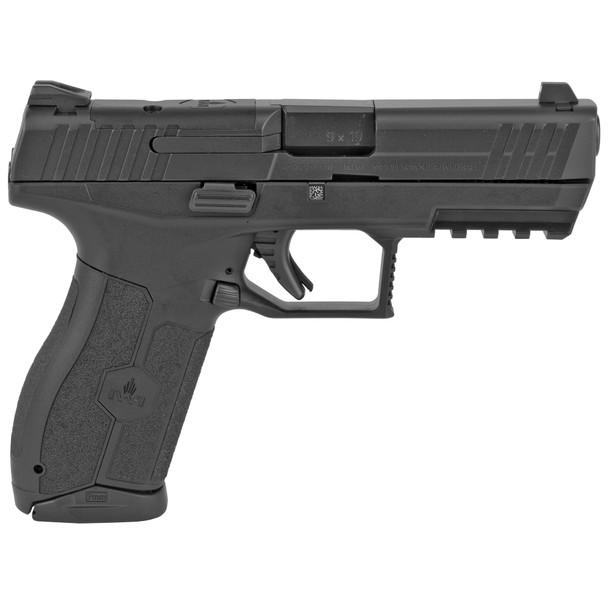"IWI US M9ORP17 MASADA 9mm Luger 4.10"" 17+1 Black Black Black Textured Polymer Grip Optics Ready"