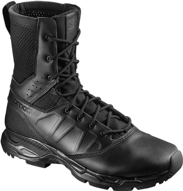 Salomon Urban Jungle Ultra Side-Zip Men's Tactical Boot, Black