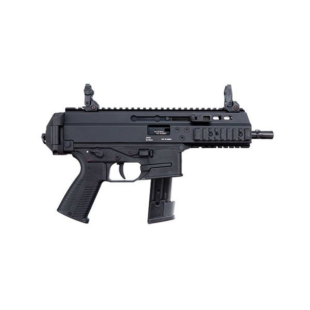 """B&T, APC9 PRO-S, Semi-automatic, 9MM, 7"""" Barrel, Polymer Frame, Black Finish, 21Rd, 1 Magazine, Optic Not Included, Fits Sig Sauer P320 Pattern Magazines"""