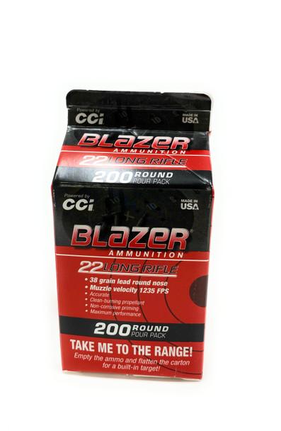 Blazer Ammunition 22LR 38GR 200CT POUR PACK