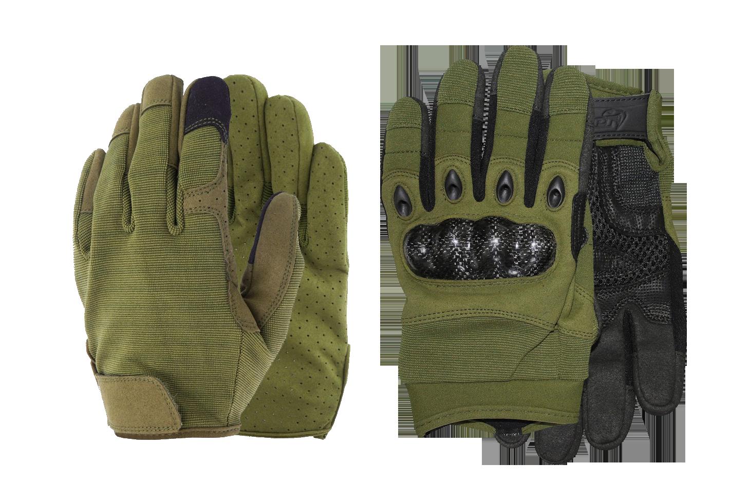 green tactical gloves at bereli