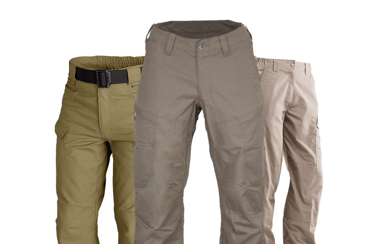 khaki tactical pants at bereli