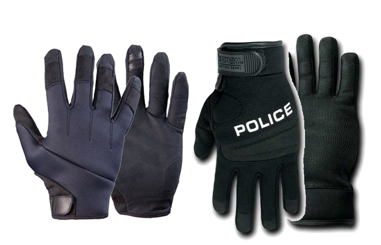 police tactical gloves at berei