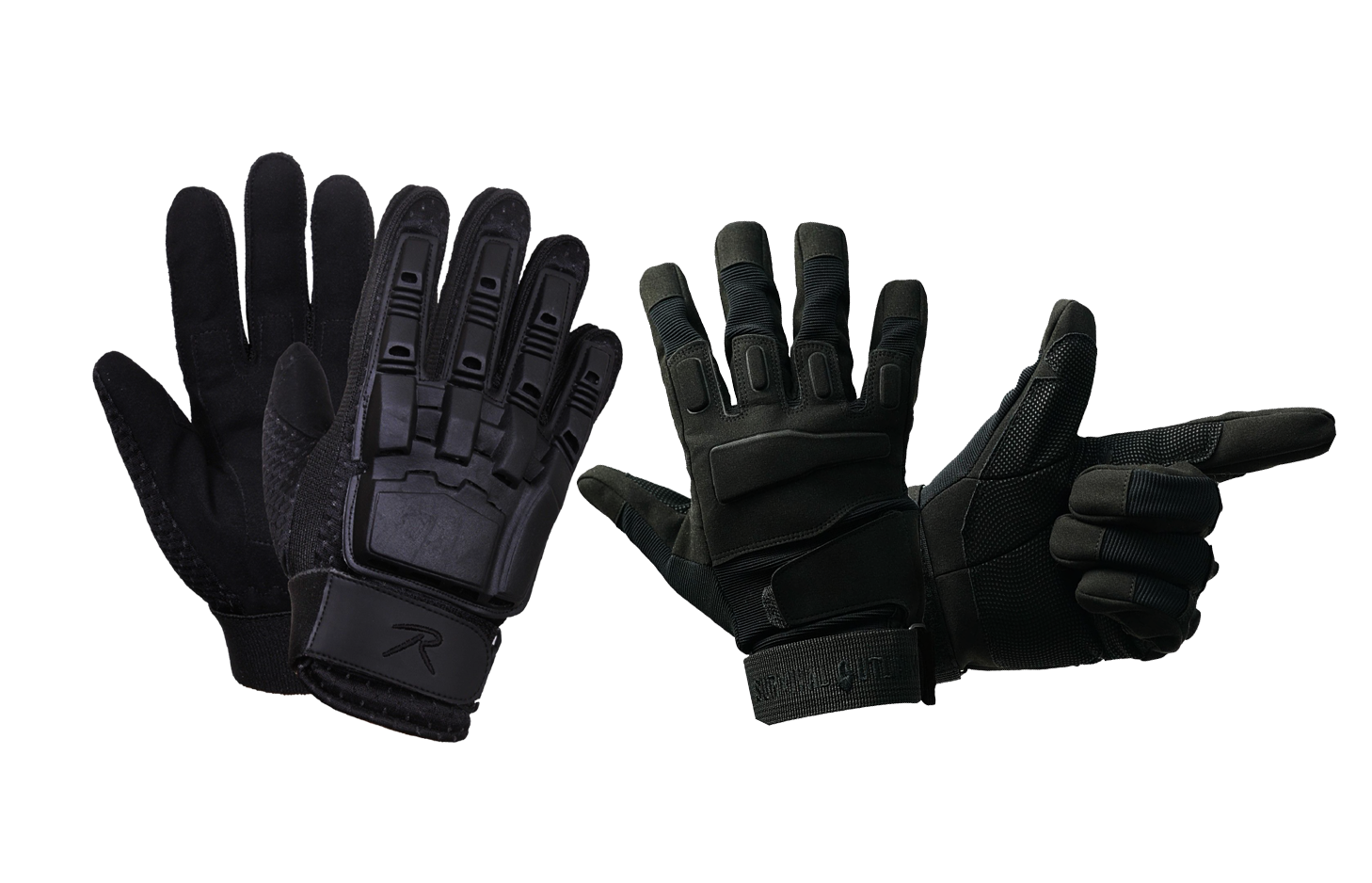 shooting tactical gloves at bereli