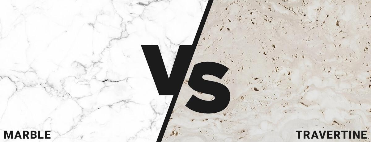 marble vs travertine