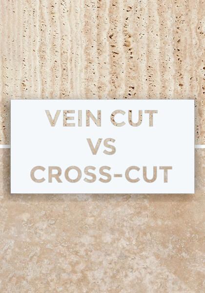travertine cross-cut vein cut