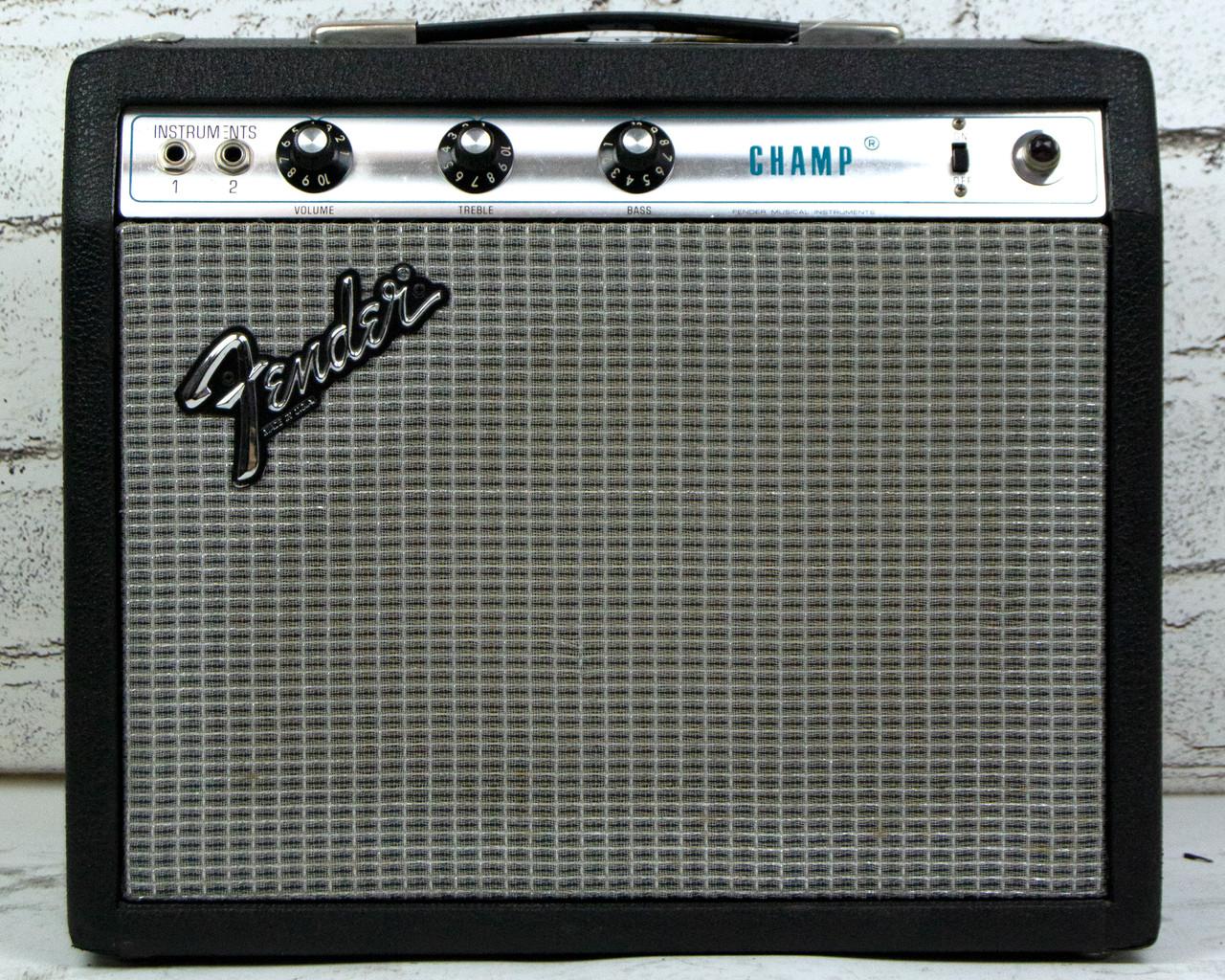 Vintage 1970s Fender Champ w/ Mods