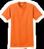 G2000 Safety Orange T-Shirt Short Sleeve by Gildan