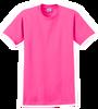 G2000 Safety Pink T-Shirt Short Sleeve by Gildan