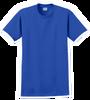 G2000T Royal Blue T-Shirt Short Sleeve Tall by Gildan