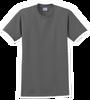 G2000B Charcoal Youth T-Shirt Short Sleeve by Gildan