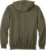 Moss CTK122 Carhartt 10.5 oz Midweight Hooded Full Zip Sweatshirt Back image
