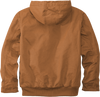 CT104050 Carhartt Brown Washed Duck Active Jacket back view