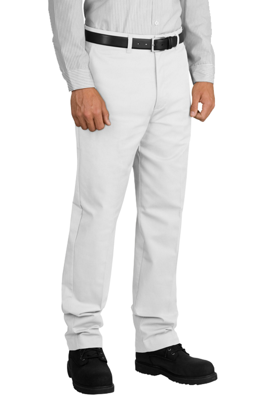 PT20 White Industrial Work Pant by Red Kap and Eagle Media Inc.