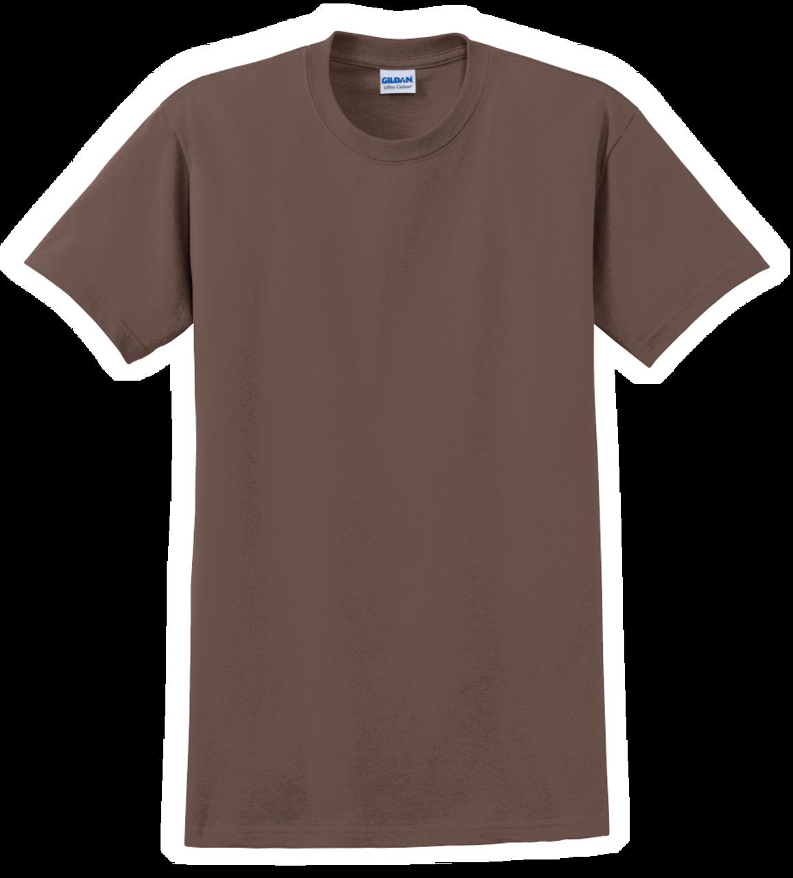 G2000 Chestnut T-Shirt Short Sleeve by Gildan