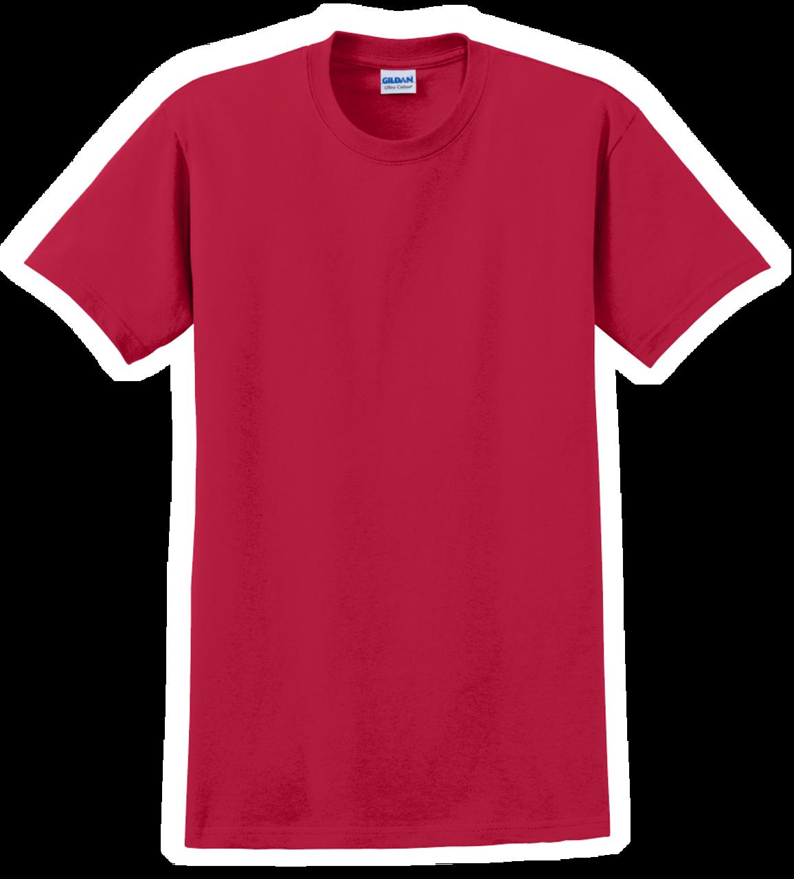 G2000 Cherry Red T-Shirt Short Sleeve by Gildan