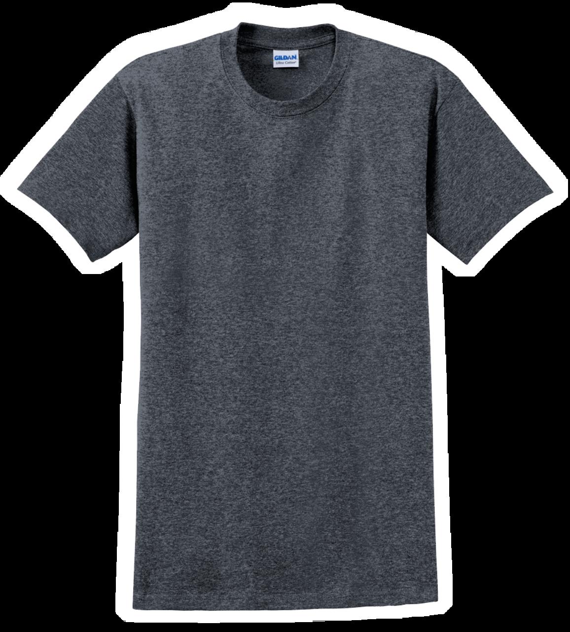 G2000 Dark Heather T-Shirt Short Sleeve by Gildan