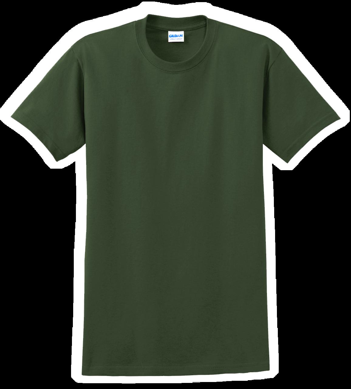 G2000 Forest Green T-Shirt Short Sleeve by Gildan