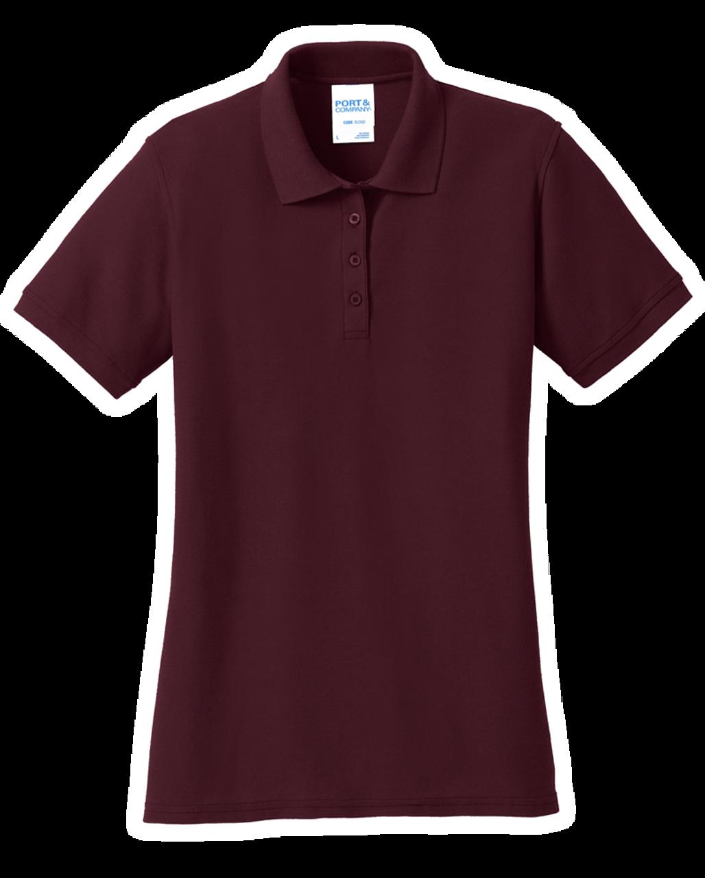 LKP155: Ladies Core Blend Pique Polo by Port & Company