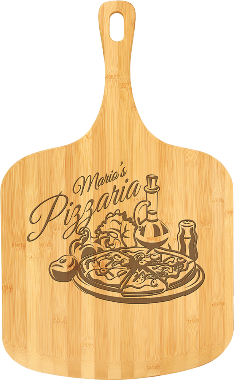 """CTB222 - 23 1/2"""" x 14 1/2"""" Bamboo Pizza Board"""