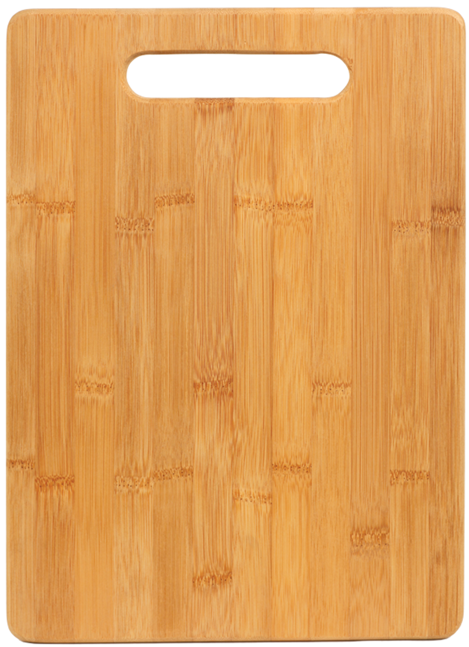 "CTB174 - 13 3/4"" x 9 3/4"" Bamboo Rectangle Cutting Board"
