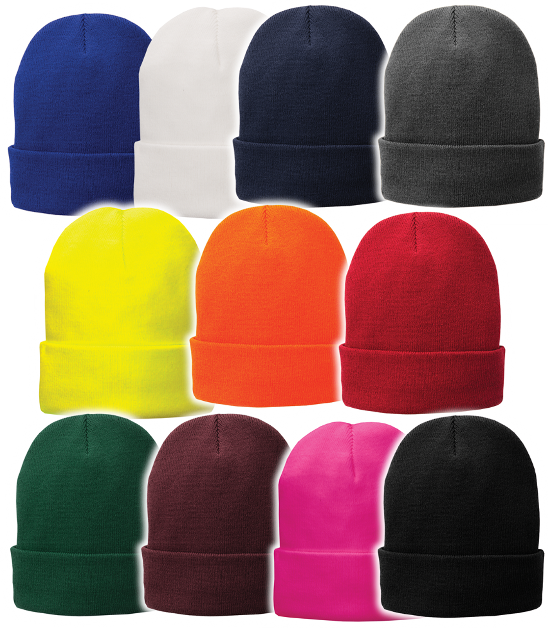 CP90L: Fleece-Lined Knit Cap by Port Authority