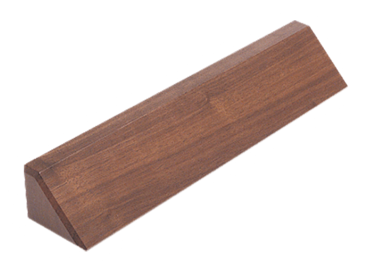 "DS12: 12.5"" Walnut Desk Wedge"