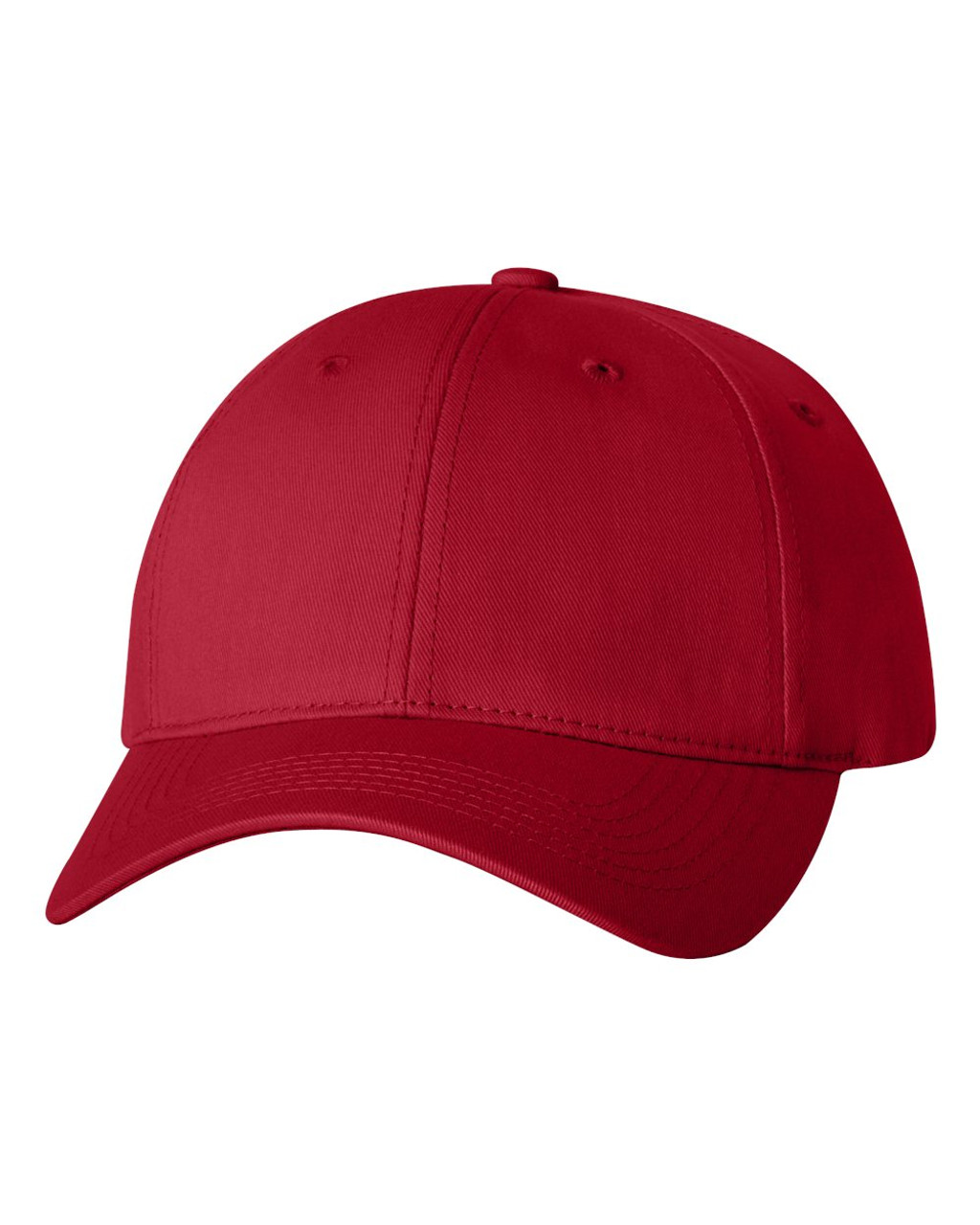 2260 - Twill cap with Velcro Closure by Sportsman in Red