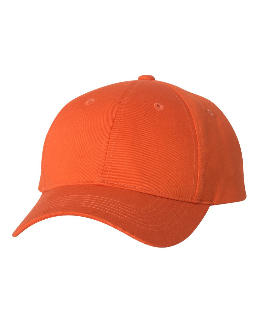 2260 - Twill cap with Velcro Closure by Sportsman in Orange