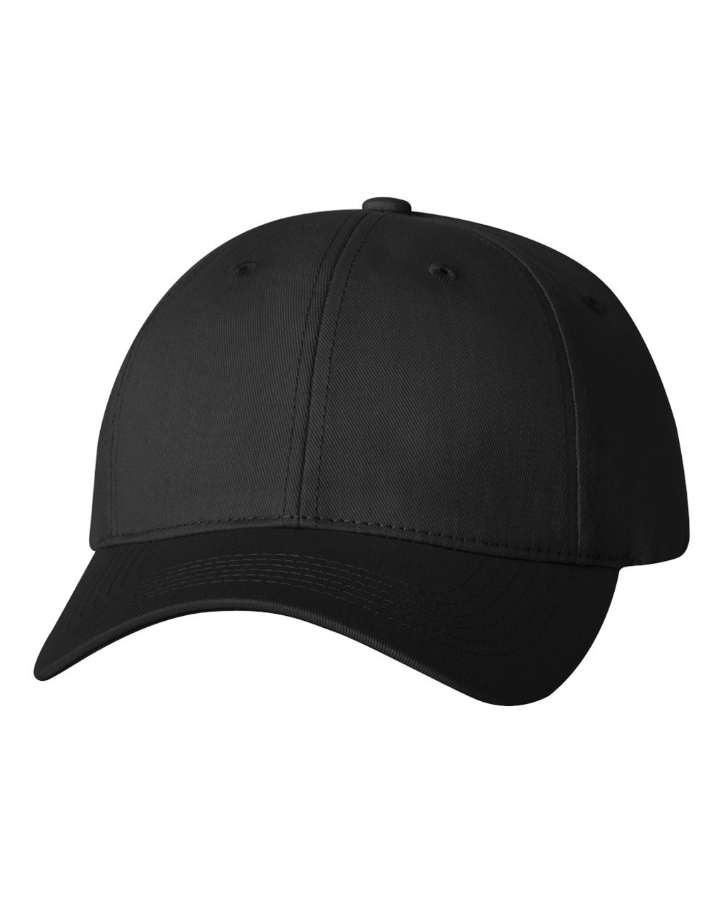 2260 - Twill cap with Velcro Closure by Sportsman in Black
