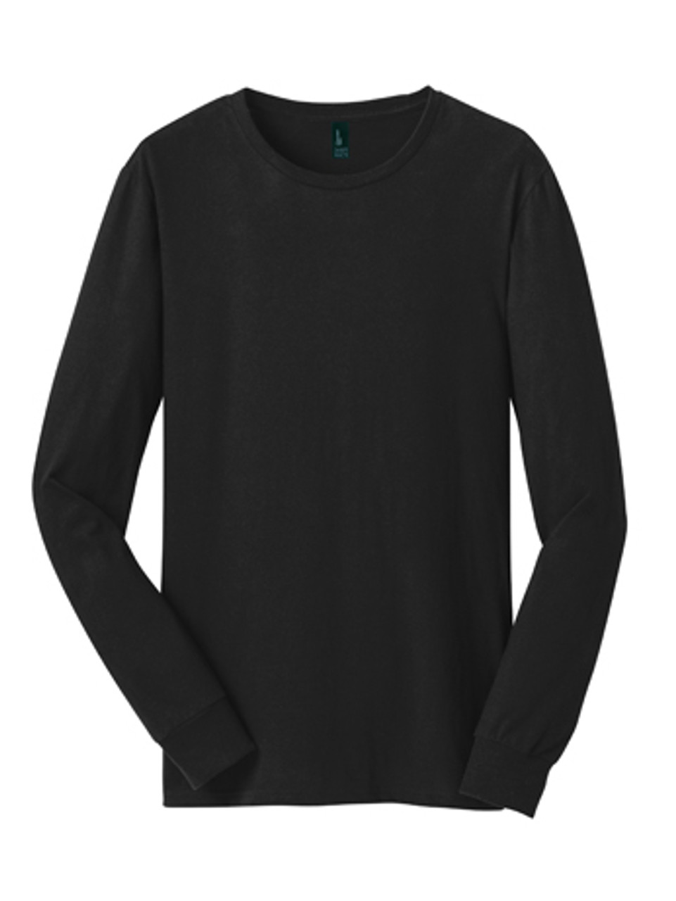 DT5200: Young Mens The Concert Tee® Long Sleeve by District®  in Black