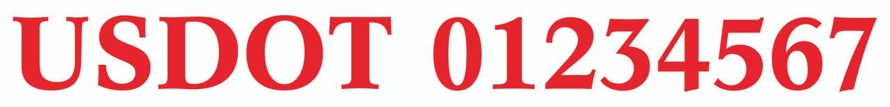 Red - Dutch Font