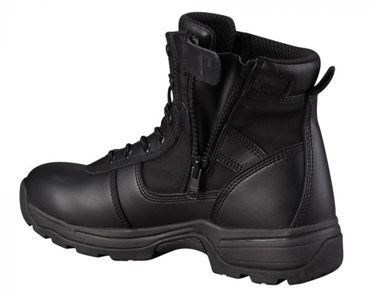 Right inside zipper view of the Series 100 Waterproof 6in Boot by Propper
