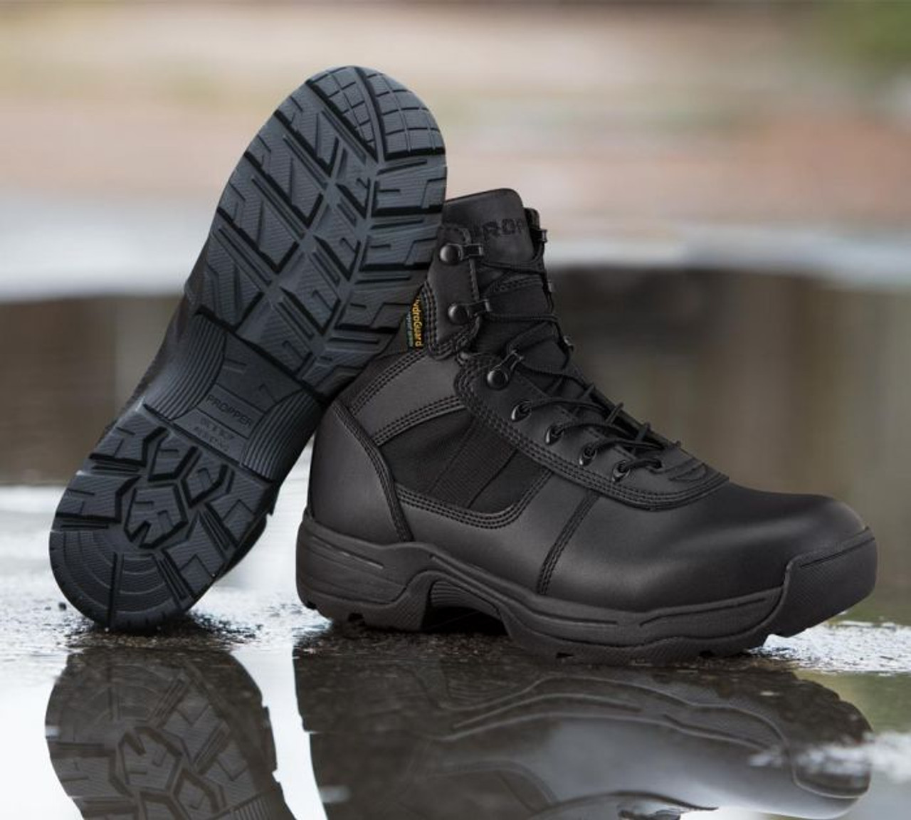 Model shot of the Series 100 Waterproof 6in Boot by Propper