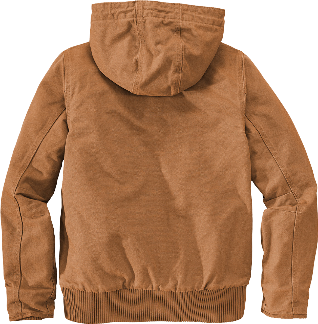 CT104053: Women's Carhartt Brown Washed Duck Active Jacket Back view