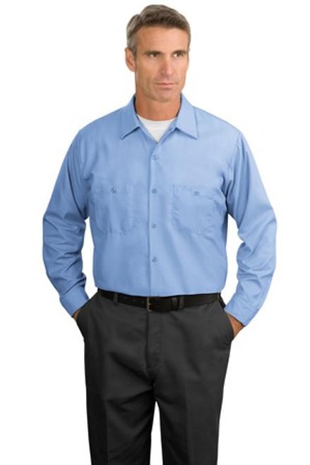 RK-SP14: Long Sleeve Industrial Work Shirt by Red Kap