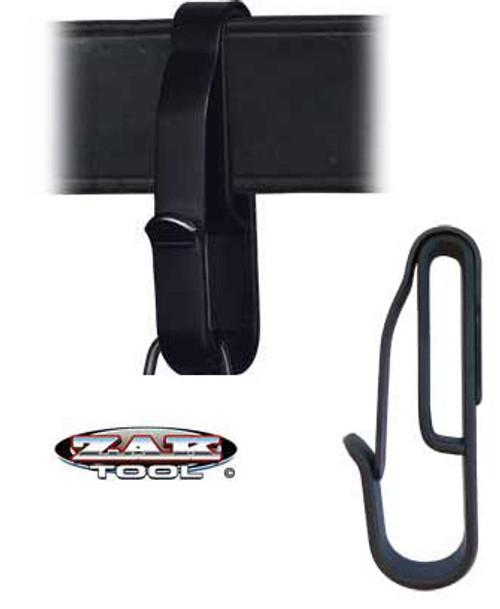ZAK-55: LOW PROFILE KEY RING CLIP-BLACK by Zak.